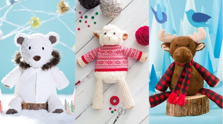 Scentsy Buddies dressed in seasonal outfits