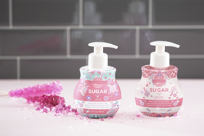 Photo of Scentsy handsoap in sugar scent