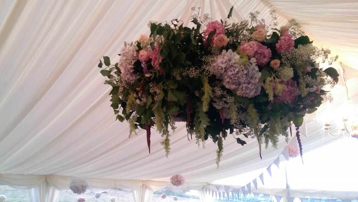 marquee flower hoops