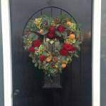 Heart Door Wreath