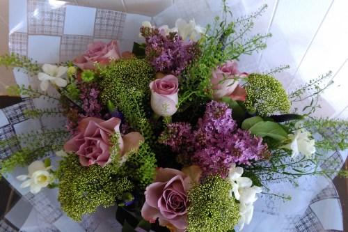 Fairytale hand tied flowers