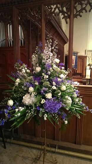 Pedestal Flowers
