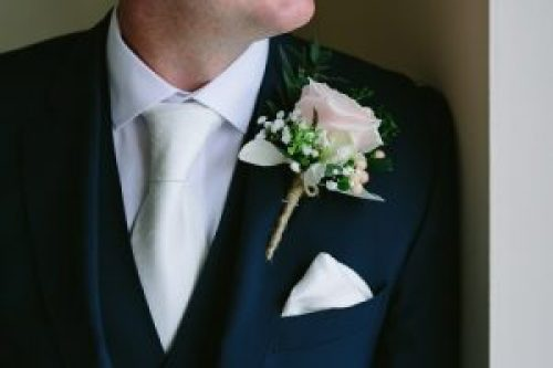 Groom Rose Buttonhole