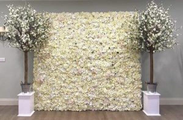 Blossom Tree & Flower Wall