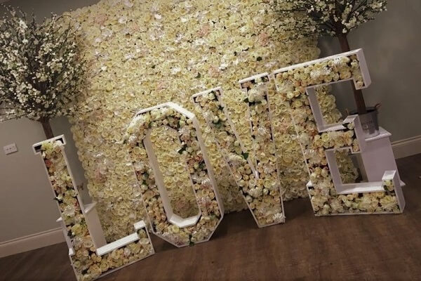 Love Letters, Flower Wall, Blossom Tree