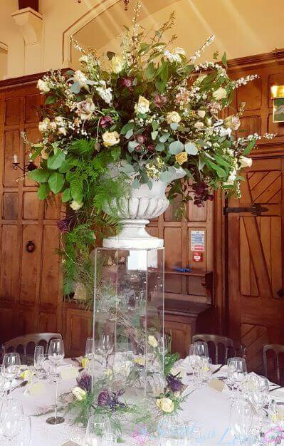 Wedding Urn Flowers