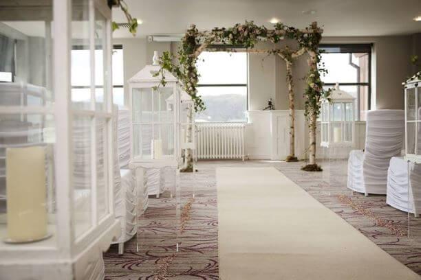 Wedding Birch Frame Archway