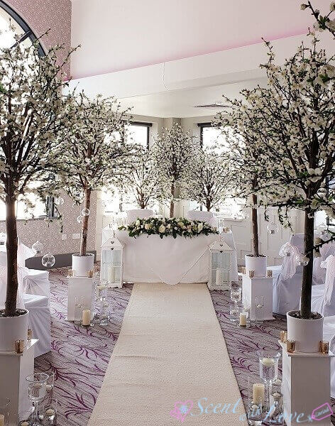 Wedding Isle Blossom Trees