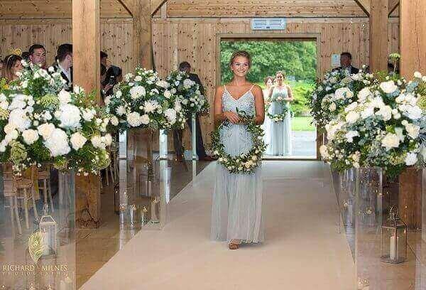 Hoop Bridal Flowers
