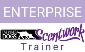 taking dogs scentwork enterprise trainer logo