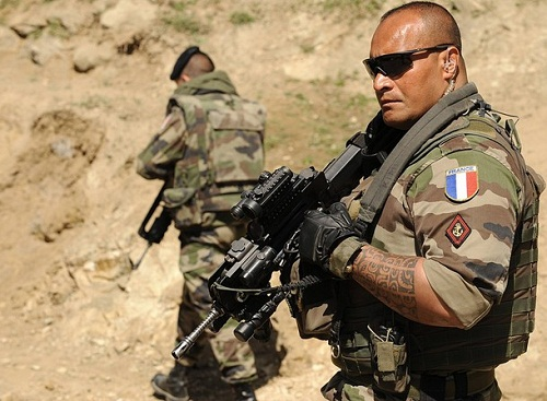 Французский Иностранный легион в Африке