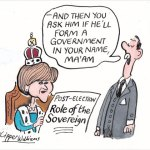 The Sceptical Scot cartoon: Queen Nicola
