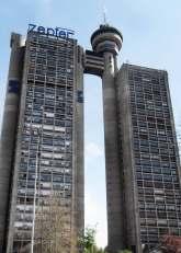 Genex Tower, New Belgrade, former Yugoslavia | Image: Owen Hatherley