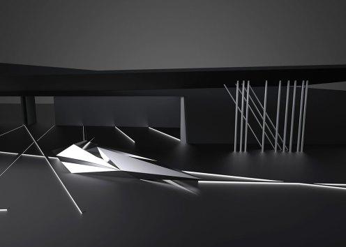 Design for Prima installation, Zaha Hadid, 2013