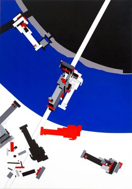 Malevich's Tektoniks, Zaha Hadid, 1977