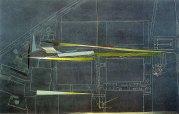 Design for Vitra Fire Station, Zaha Hadid, 1993