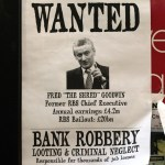 Wanted poster with Fred Goodwin chief among RBS guilty men