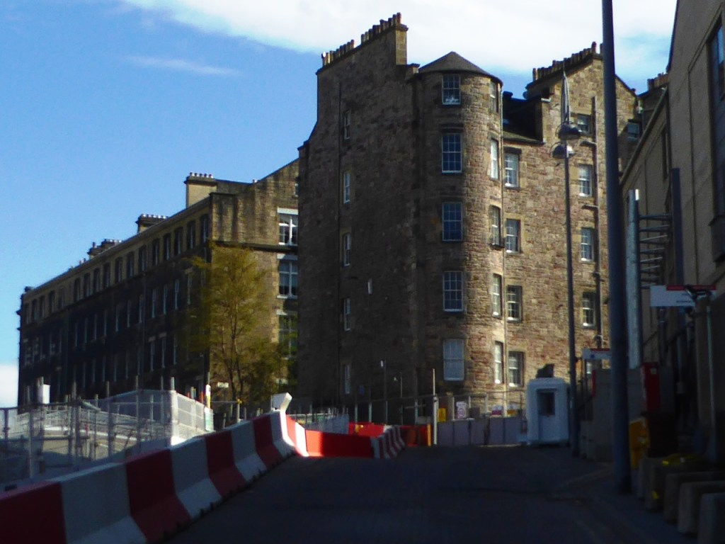 Survivors: the remaining tenements of the old St James,