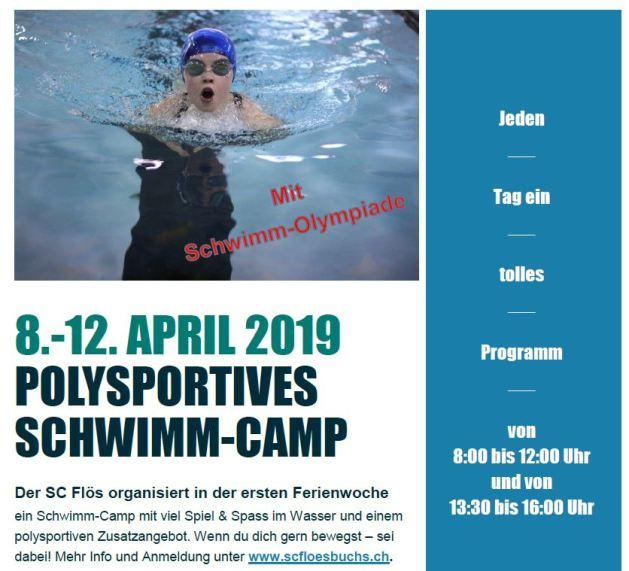 Polysportives Schwimm-Camp