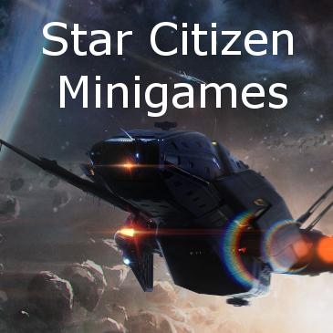 Star Citizen Minigames on RSI Website