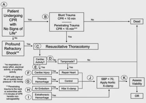 WTA Thoracotomy Algorithm