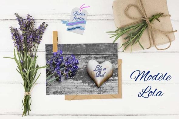 faire-part mariage Provence lavande lavandin provençal