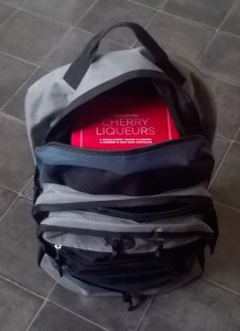 My Christmas shopping in the rucksack I've bought for the Rucksack Project Barnsley, more on that below