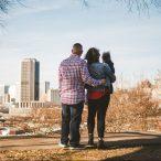 01 Family Mom Dad Baby - Jefferson Park - Richmond Skyline - Downtown - Friendly Safe Happy