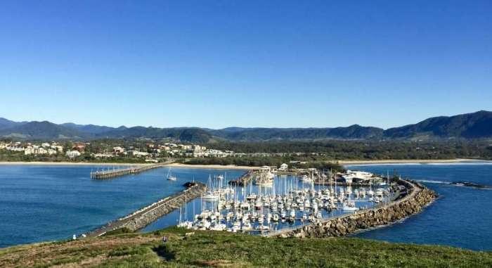 View from Muttonbird Hill