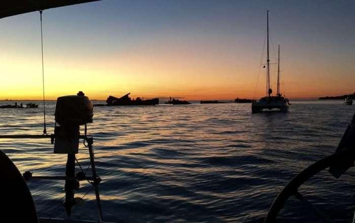 Tangalooma sunset