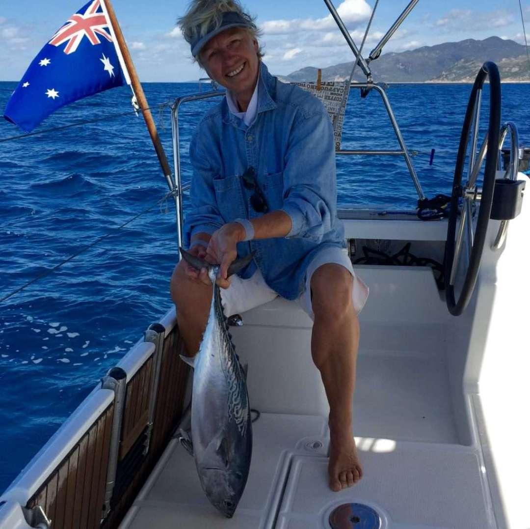 Catch of the day - Tuna!