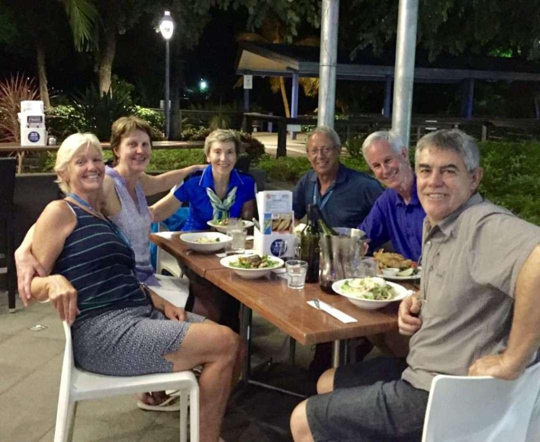 Dinner in Airlie Beach