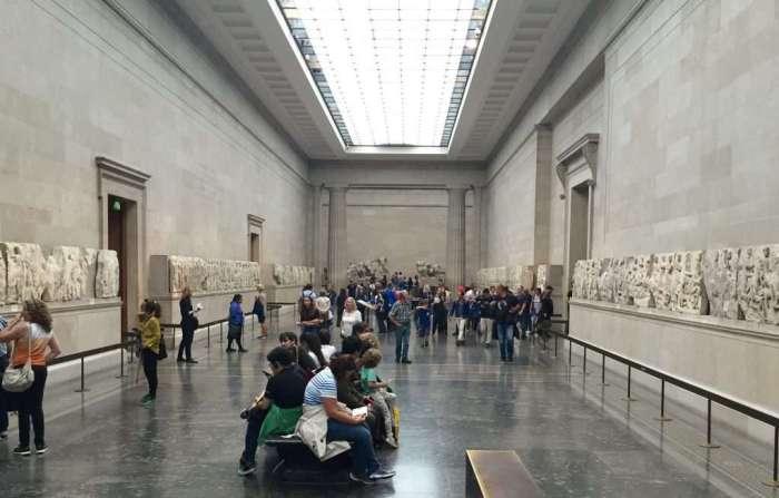 The Parthenon friezes.