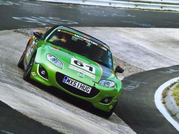 Jim and Carol's passion: Nurburgring.