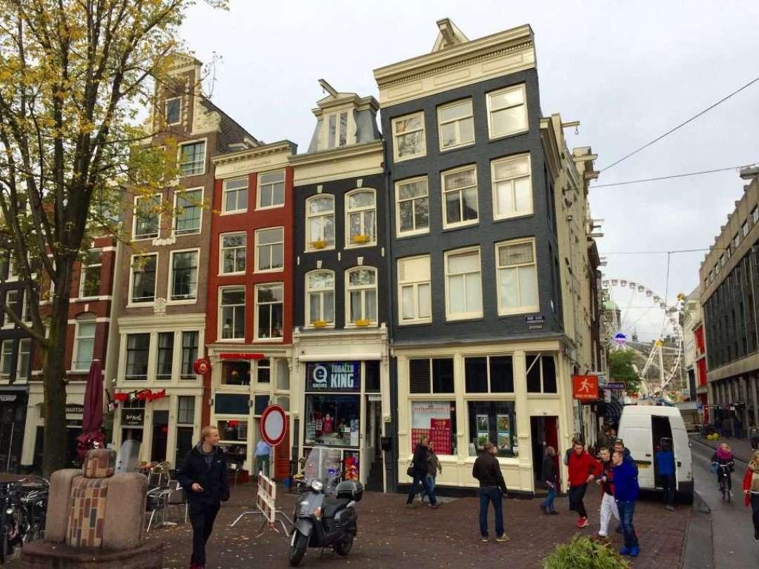 Amsterdam street scene.