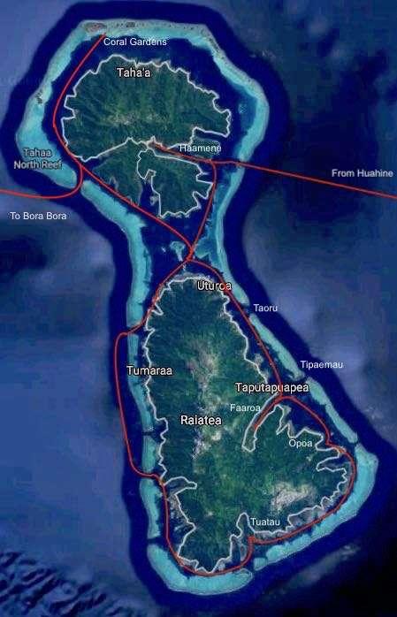 French Polynesia: Raiatea and Tahaa Islands