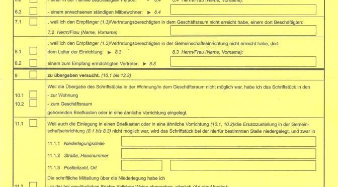 Update 1: Prozessbeobachter Bocholt 28.06.2016
