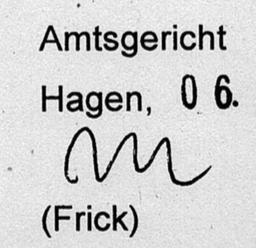 Akteneinsicht Mahngericht Hagen