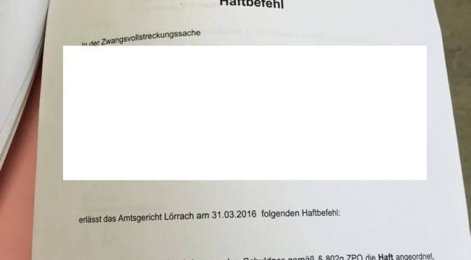 Besuch beim AG Lörrach samt Akteneinsicht
