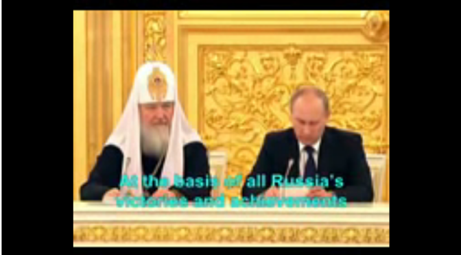 The Jesuit controlled Church and Putin – They are deceiving you !