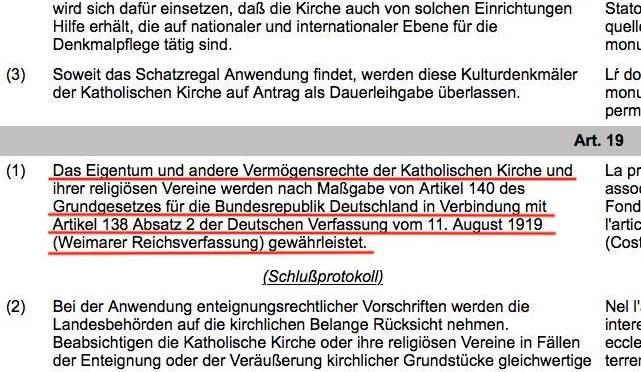 Vertrag zwischen dem Heiligen Stuhl und dem Freistaat Thüringen