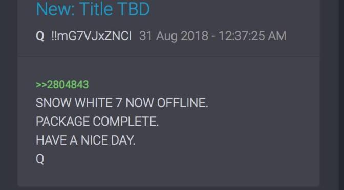 Snow White 7 noch offline