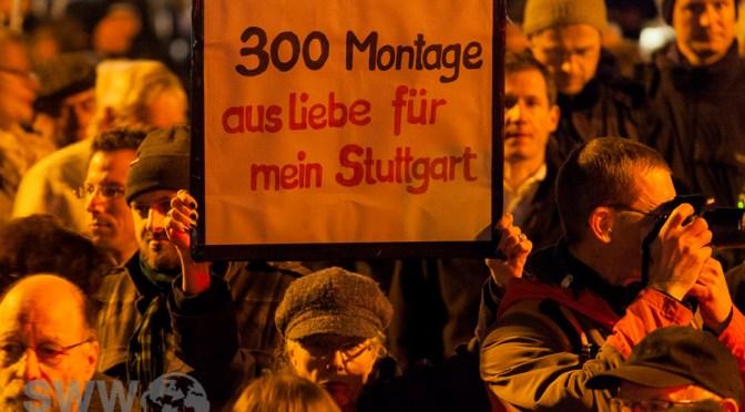300. Montagsdemo gegen Stuttgart 21