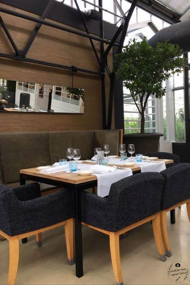 De Kas Tisch Restaurant - klein