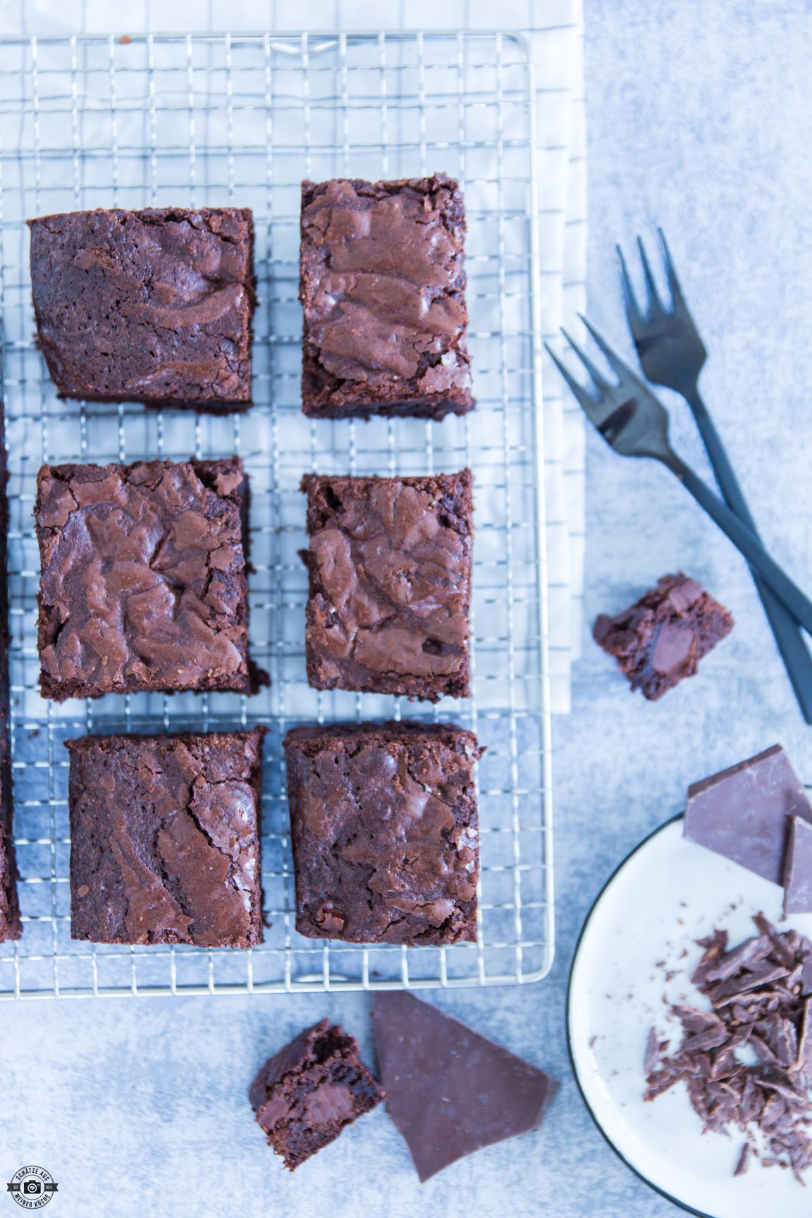 Saftige Chocolate Brownies