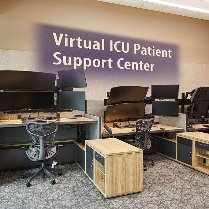 OHSU Virtual ICU (VICU) Space