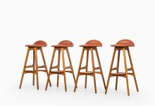 Erik Buck bar stools model OD-61 at Studio Schalling