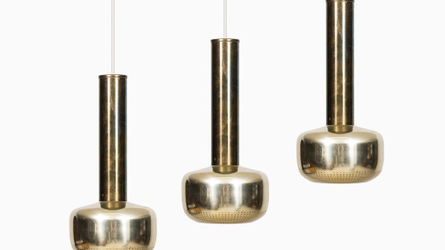Vilhelm Lauritzen ceiling lamps by Louis Poulsen at Studio Schalling
