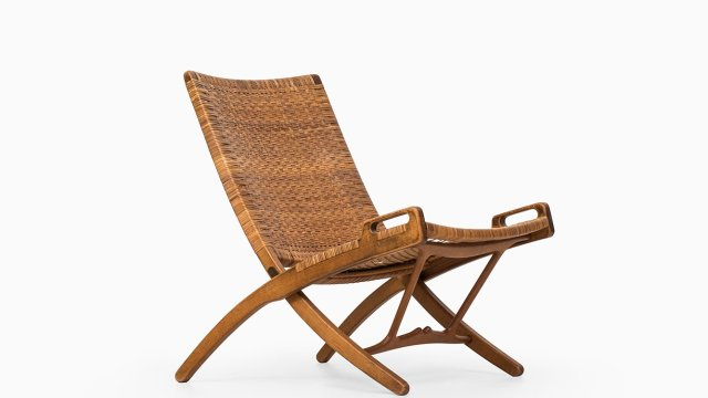 Hans Wegner folding chair by Johannes Hansen at Studio Schalling