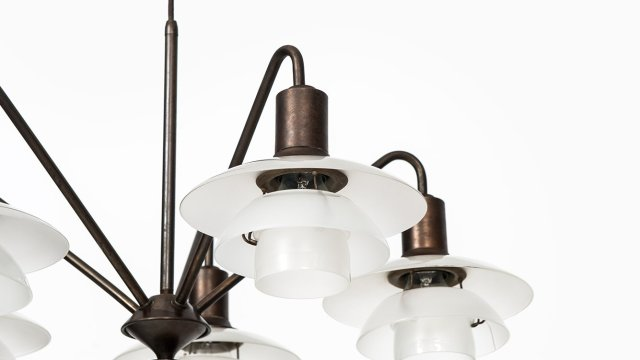 Poul Henningsen ceiling lamp by Louis Poulsen at Studio Schalling